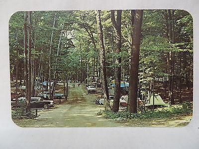 Vintage Photo Postcard A Campground Near Stevensville  Michigan 1965