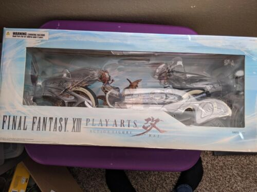Final Fantasy XIII: Play Arts Shiva Bike Kai Action Figure Set