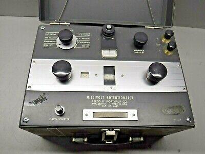 Leeds Northrup Millivolt Potentiometer 8690