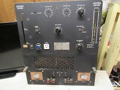 Hobart Tr-250-hf Arc Stick Tig Welder Acdcfront Panel Only For Partsfree Ship