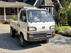 Absolutely Dope 1991 Honda Acty Mini Kei Truck 4x4!! RHD!!