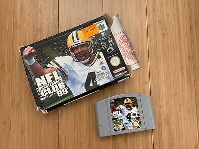 NFL Quarterback Club 99 N64 Nintendo 64 Box No Manual