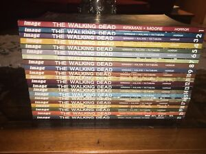 Walking Dead Graphic Novels Vol. 1 - 21