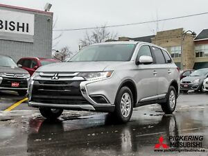 2018 Mitsubishi Outlander ES AWC / 0% Financing Available