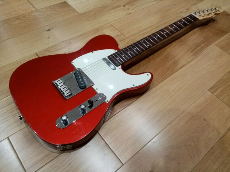 Squier Telecaster Standard electric guitar by Fender, plays n sounds great,
