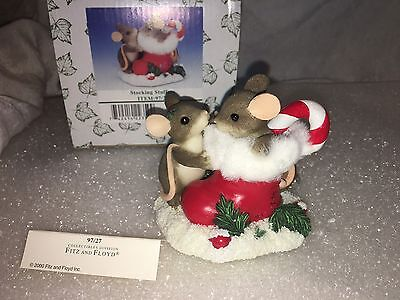 """Charming Tails """"STOCKING STUFFERS """" DEAN GRIFF CHRISTMAS MOUSE"""