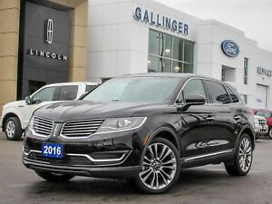 2016 Lincoln MKX RESERVE w/2.7L ECOBOOST PKG AND ALUMINUM TRIM P
