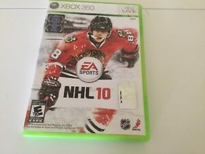 Xbox 360 NHL 10 game for $5