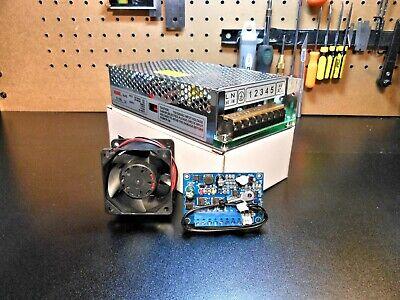 Cnc Autonomous Fan Controller Dual Rail 48v 5v Power Supply 48v Fan