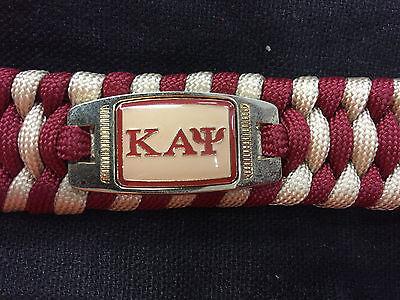 Kappa Alpha Psi  SURVIVAL BRACELET  *NEW*