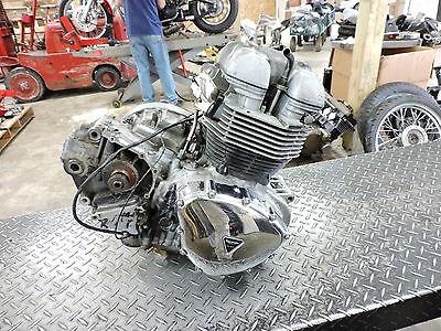 08 Triumph Bonneville T100 T 100 engine motor