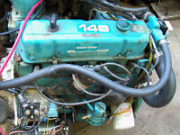 140 OMC 4 CYLINDER RUNS GOOD FRESH WATER USE.