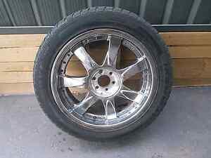 """4 x 20"""" 6x114.3 chrome speedy wheels Catherine Field Camden Area Preview"""