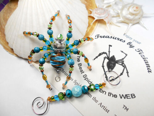 TreasuresbyTiziana® Christmas Real Natural Bayberry Wax German Legend Spider