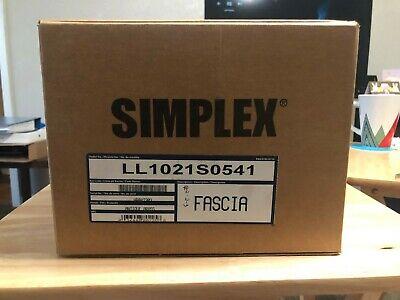 Kaba Simplex Ll1021 S0541 - Antique Brass - Fascia