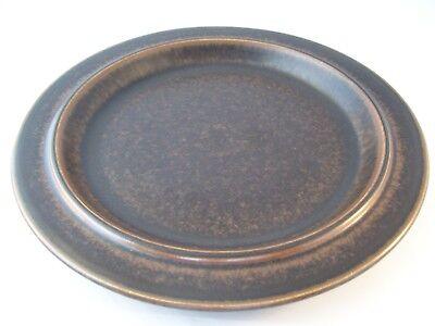 Vintage Arabia Finland Ruska Ulla Procope Pottery Dinner Plate Retired ~ B