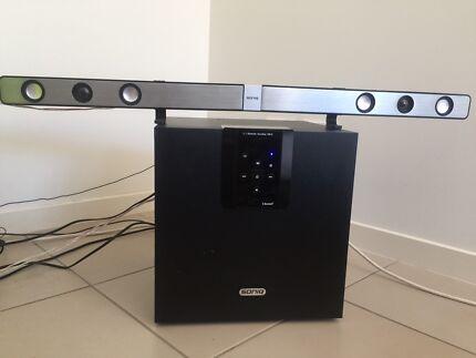 SONIQ sound bar system