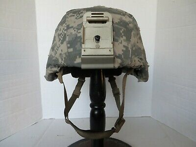 US Army ACH MICH Helmet Gentex size M with NV mount & Improved H nape strap