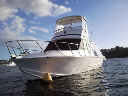 Ex Cray convert to Bertram 38ft powerboat for sale Hamilton Hill Cockburn Area Preview