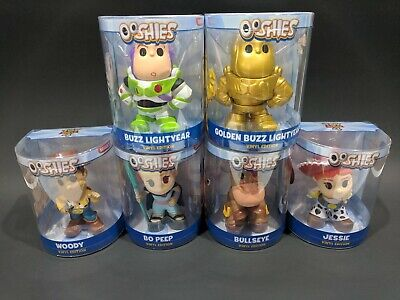 Disney Toy Story 4 Lot Ooshies Complete Set Of 6 Vinyl Edition Series 1