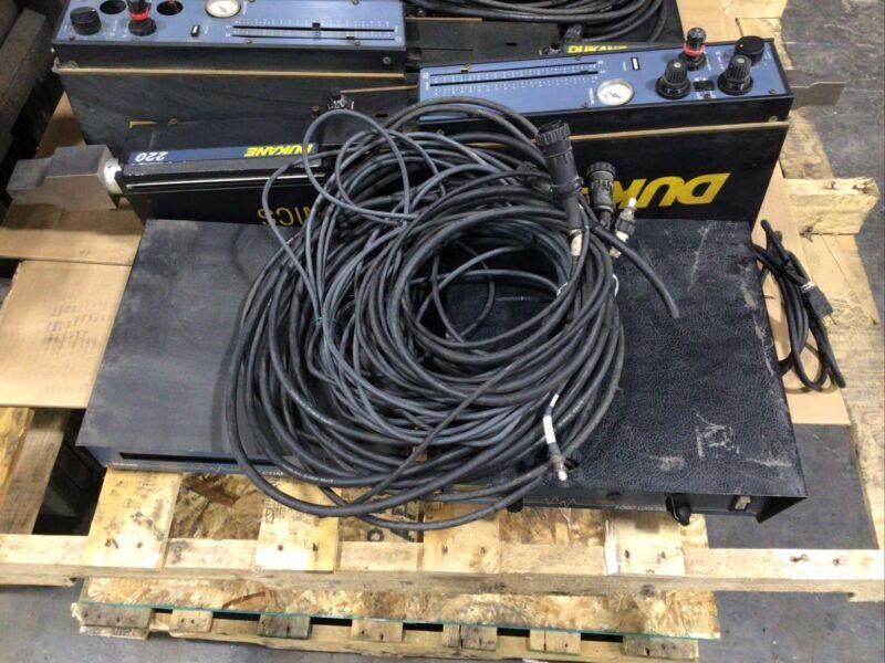 Dukane Ultrasonic Welder Model 220  W/ Ultra 1000 Auto-trac Controller #5374TAW