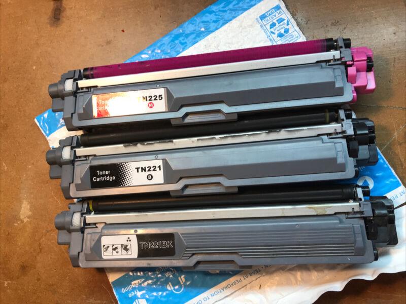 TN225M TN 221B TN221BK Empty Toner Cartridges