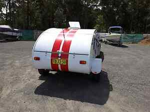 "Teardrop camper  ""GRAND  TOURER""( No Need For Electric brakes ) Basin View Shoalhaven Area Preview"