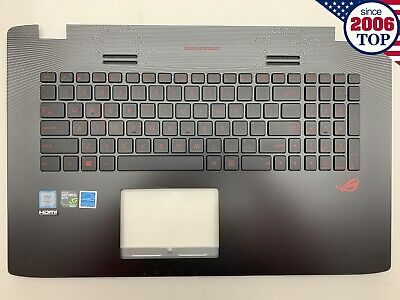 13N1-0BA0921  Asus GL553VE  TOPCASE PALMREST WITH KEYBOARD W//O TOUCHPAD
