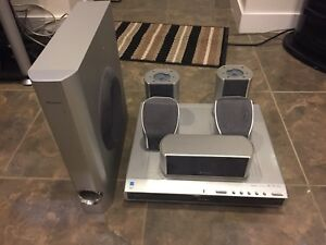 Pioneer Surround Sound system with optic audio cable