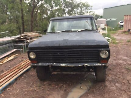 Ford f100 1970 4 door 4x4 project