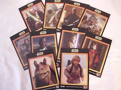 Star Wars Episode 1: Series 2 KFC Australia / NZ International set - 1999