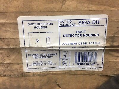 Edwards Systems Technologies Siga Dh Duct Detector Housing   New