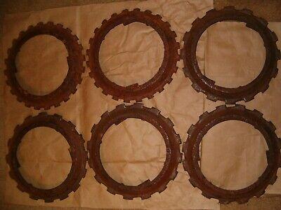 6 Cast Iron John Deere Planter Jd Seed Plate 4-h695-b 2-b16236b Crafts Art