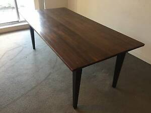 Solid wood dining room table 2mx 1m Woolloomooloo Inner Sydney Preview