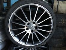 Mercedes factory mag wheels 235/35/19 Chermside Brisbane North East Preview