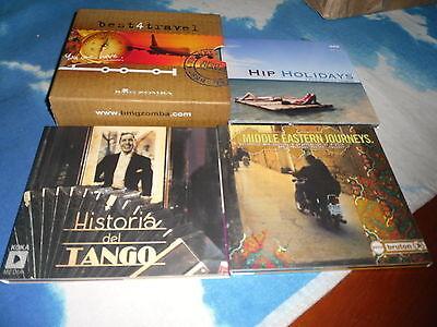 BEST4 TRAVEL CD BOX SET HIP HOLIDAYS/MIDDLE EASTERN JOURNEYS/HISTORIA DEL