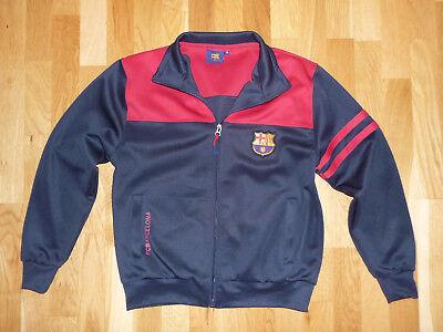 FC Barcelona Trainingsjacke Kinder-Gr.M / 14 blau