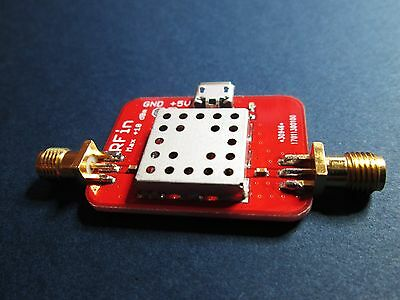Ultra Low Noise Amplifier Nf 0.5db Gain 40db 0.01 - 2ghz Lna Operates To 4ghz