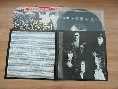 Queensryche - Operation Mindcrime Korea Orig LP 4 Pages Insert No Barcode RARE