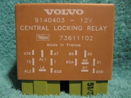 SHIPS SAME DAY! Volvo 9140403 Central Locking Relay              850 960 S90 V90