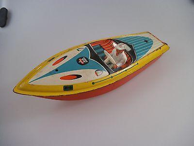 Arnold Blech Motorboot 1910 - 26 cm - 50er Jahre (371)