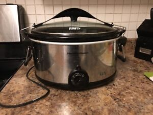 Hamilton Beach Large Slow Cooker
