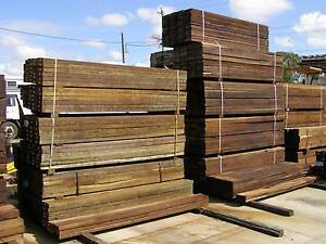 HARDWOOD SLEEPERS 200x50x2.4m Loganholme Logan Area Preview
