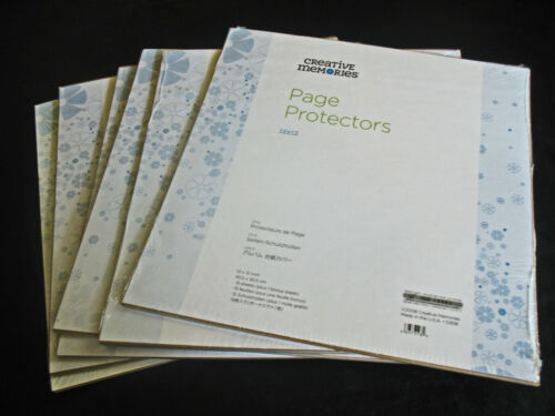 Creative Memories 1 pkg. New True Style Page Protectors Many Available