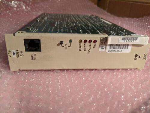 SYMMETRICOM 090-45018-04 D0PQACA TELECOM SOLUTIONS MAINTENANCE INTERFACE