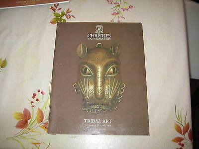 CHRISTIES CATALOGUE TRIBAL ART JUN88