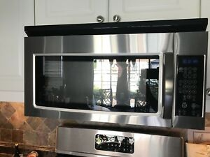 Whirlpool Over the Range Microwave, 30in, 1.6 cu.ft,