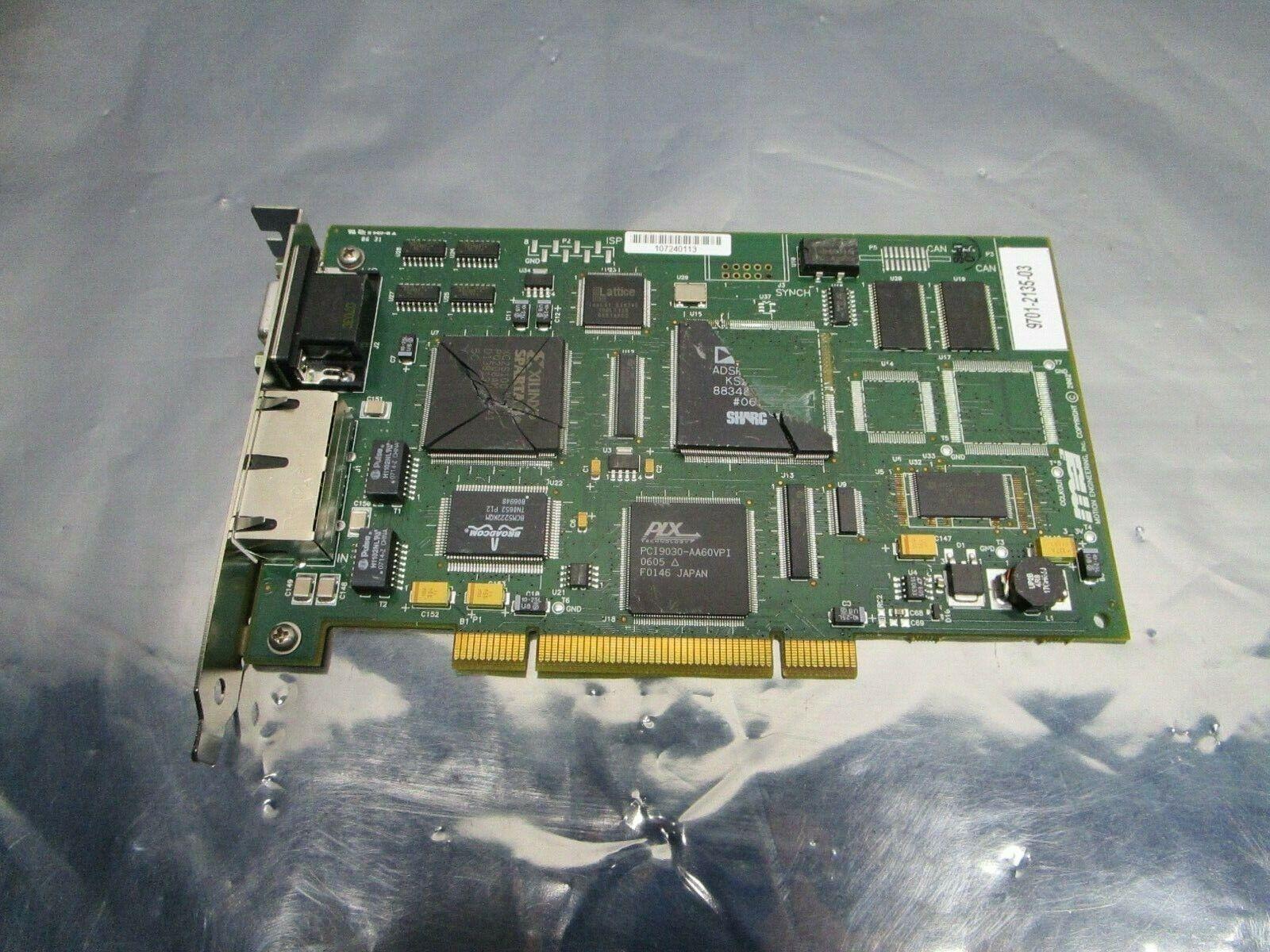MEI 9701-2135-03 PCB, Asyst, 1107-0085, XMP-SYNQNET-PCI-RJ, 101204