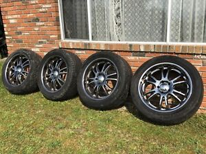 Four 22 inch Boss Motorsports Rims + Tires For Sale. $1,750 obo