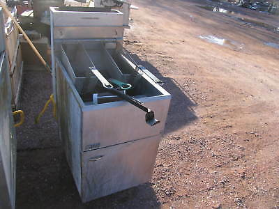 Pitco 65c 3-basket Floor Gas Fryer Nsf Csa